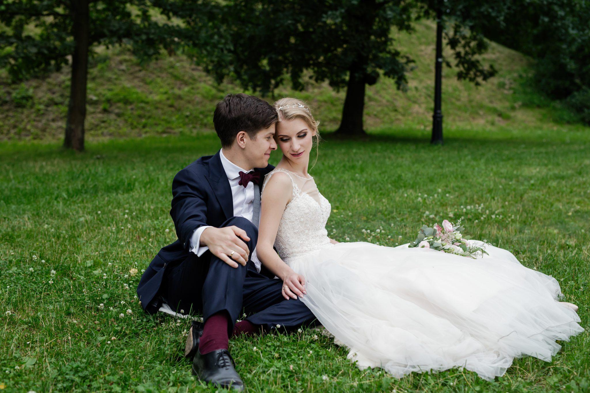 Sesja ślubna w forcie Bema